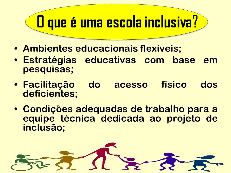 O que é uma escola inclusiva