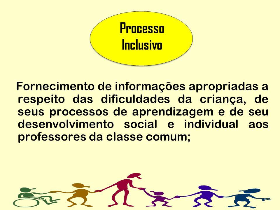 Processo Inclusivo.