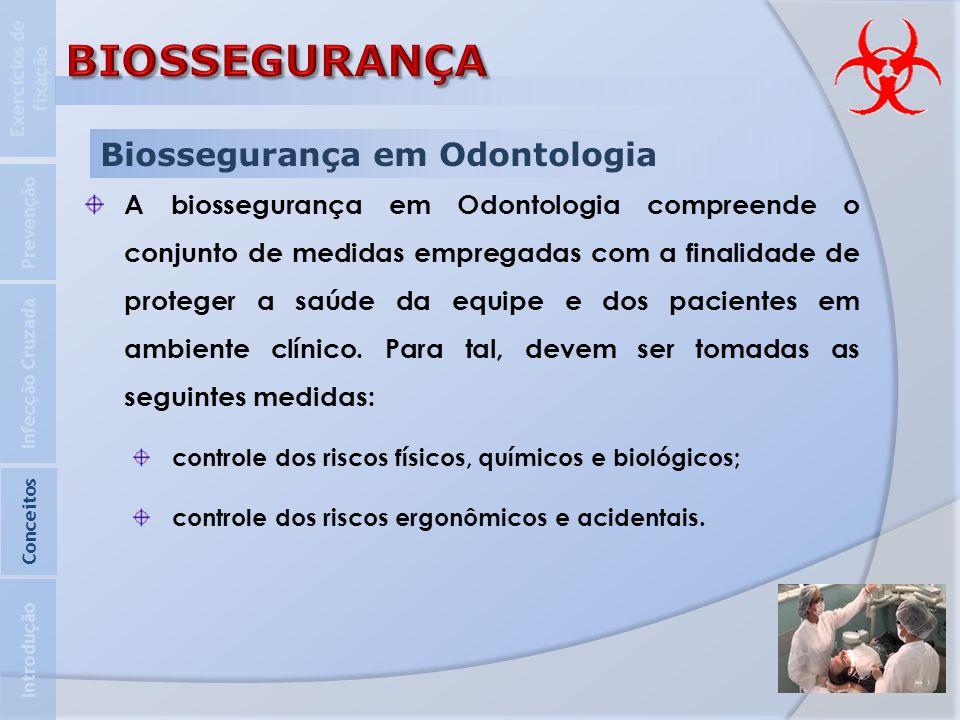 BIOSSEGURANÇA Biossegurança em Odontologia