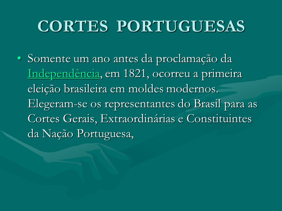 CORTES PORTUGUESAS