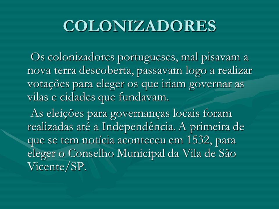 COLONIZADORES