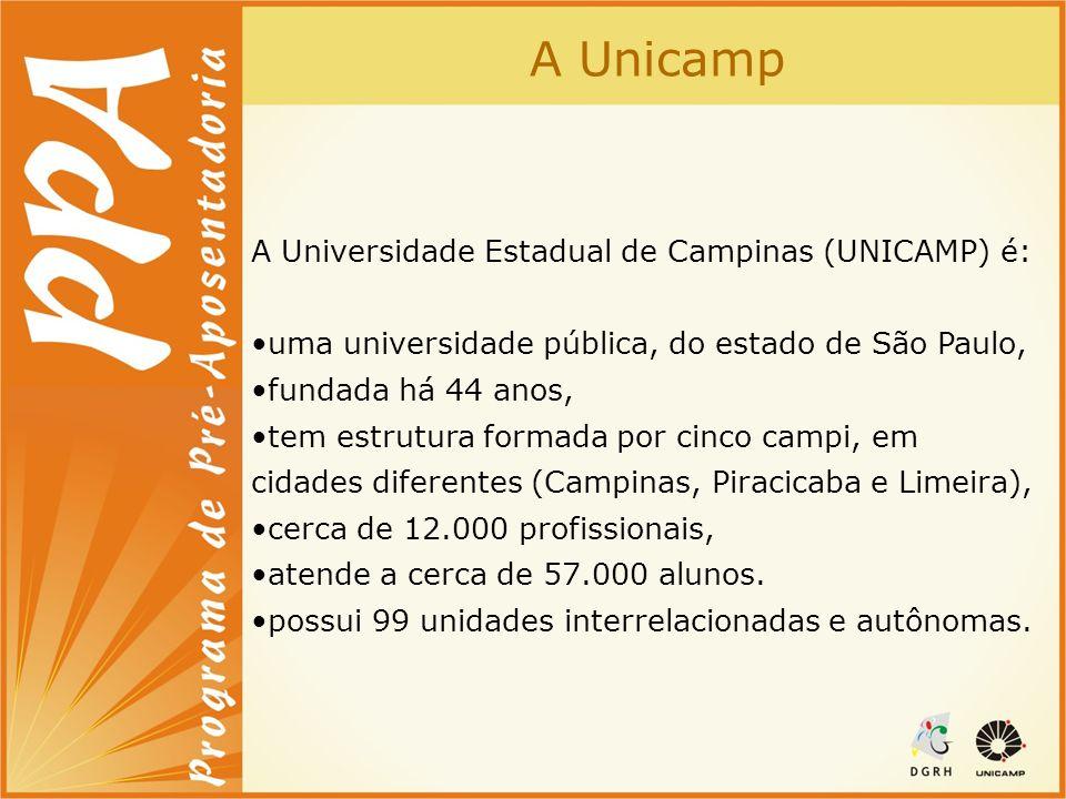 A Unicamp A Universidade Estadual de Campinas (UNICAMP) é: