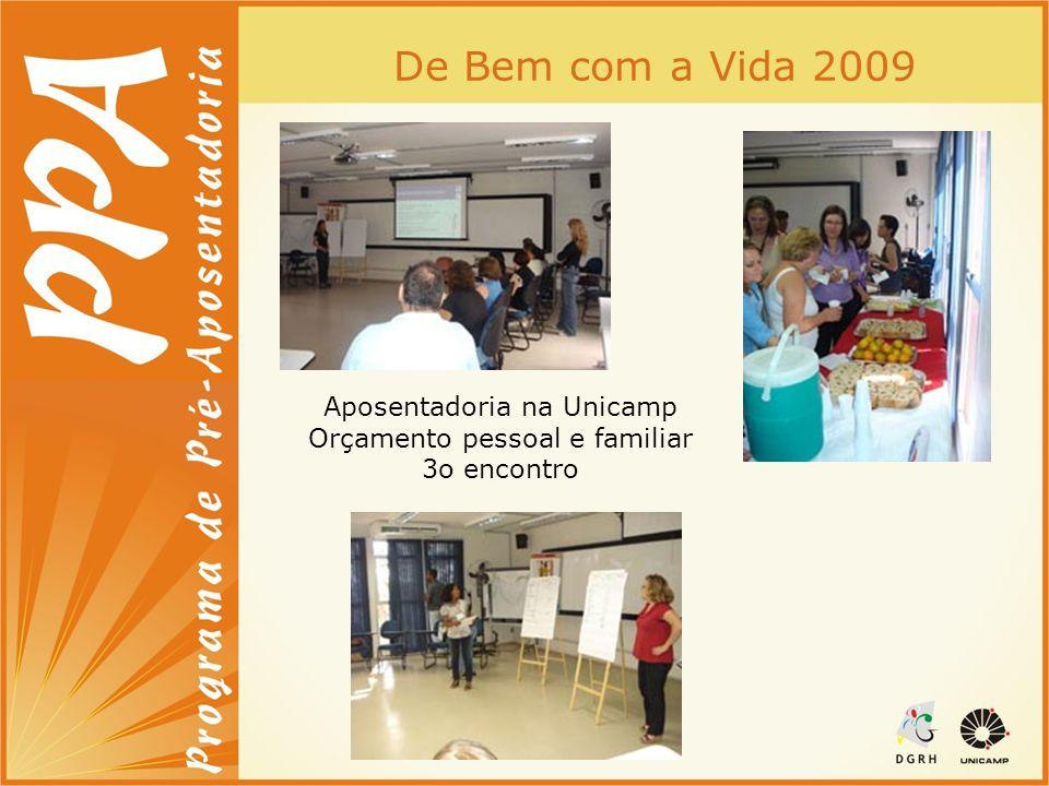 De Bem com a Vida 2009 Aposentadoria na Unicamp