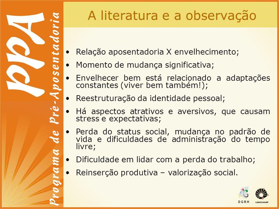 A literatura e a observação