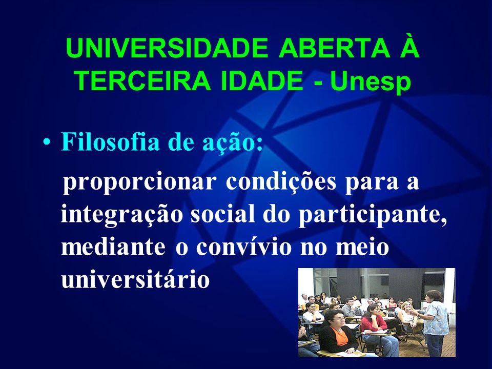 UNIVERSIDADE ABERTA À TERCEIRA IDADE - Unesp