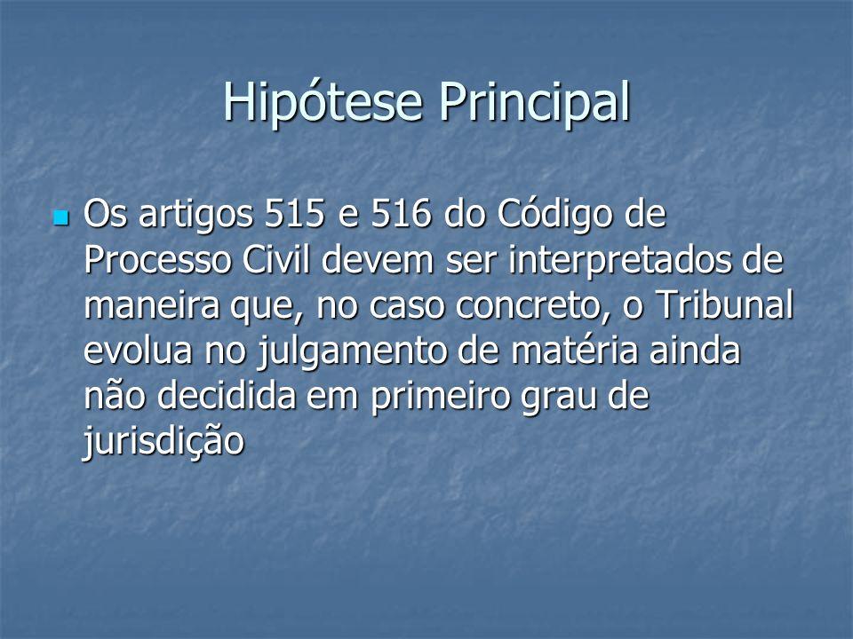Hipótese Principal