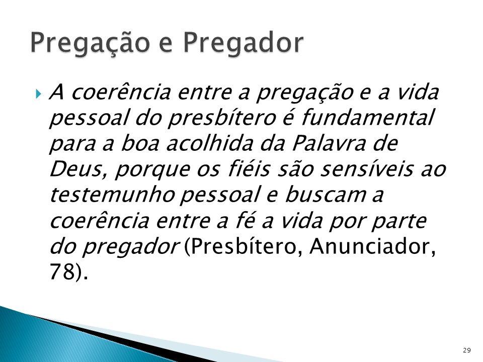 Pregação e Pregador