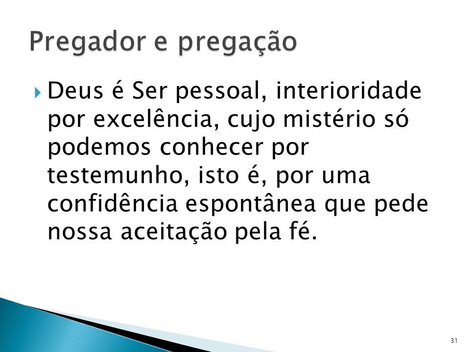Pregador e pregação