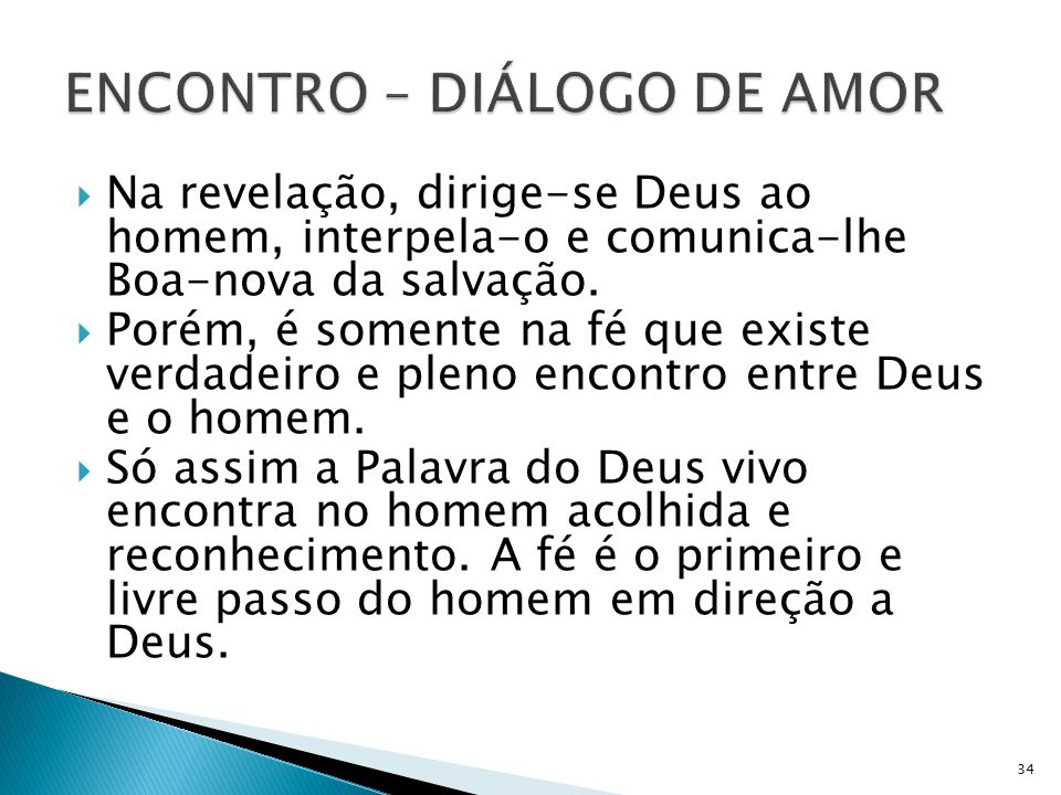 ENCONTRO – DIÁLOGO DE AMOR