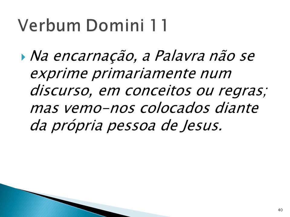 Verbum Domini 11