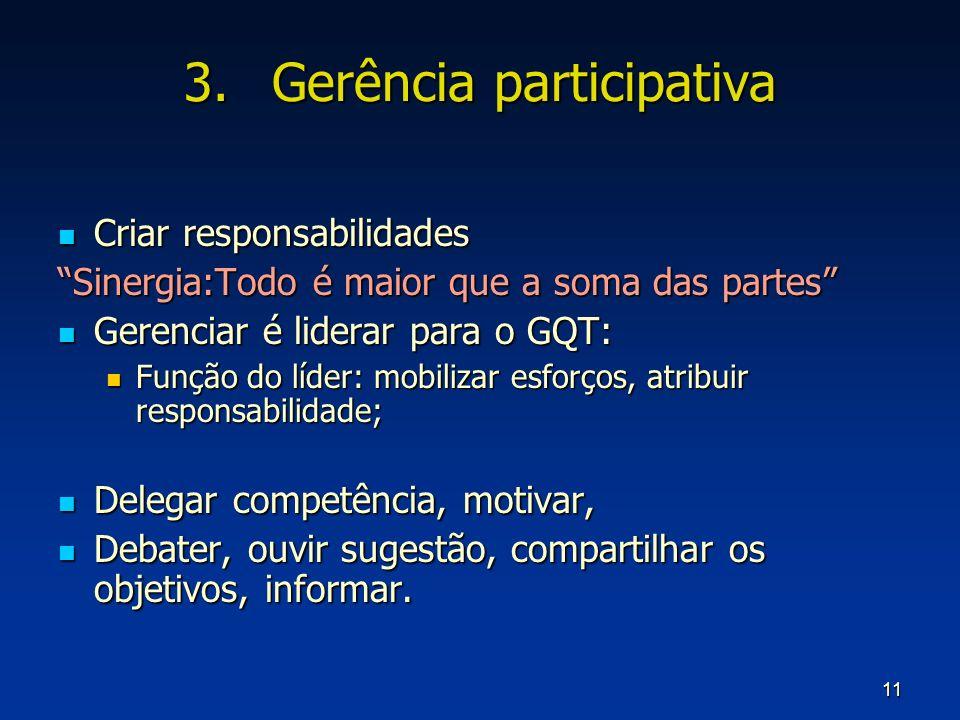 Gerência participativa