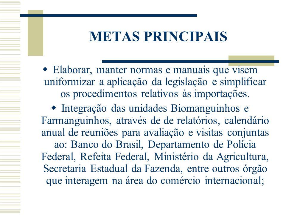 METAS PRINCIPAIS