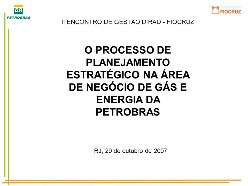 II ENCONTRO DE GESTÃO DIRAD - FIOCRUZ