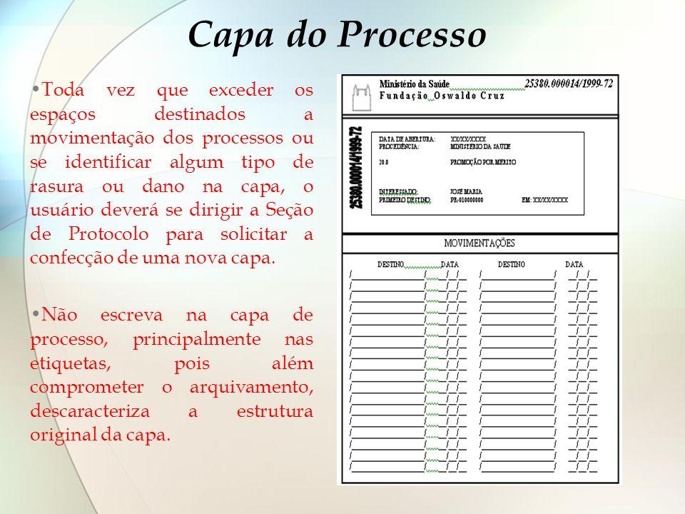 Capa do Processo