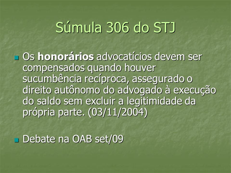 Súmula 306 do STJ