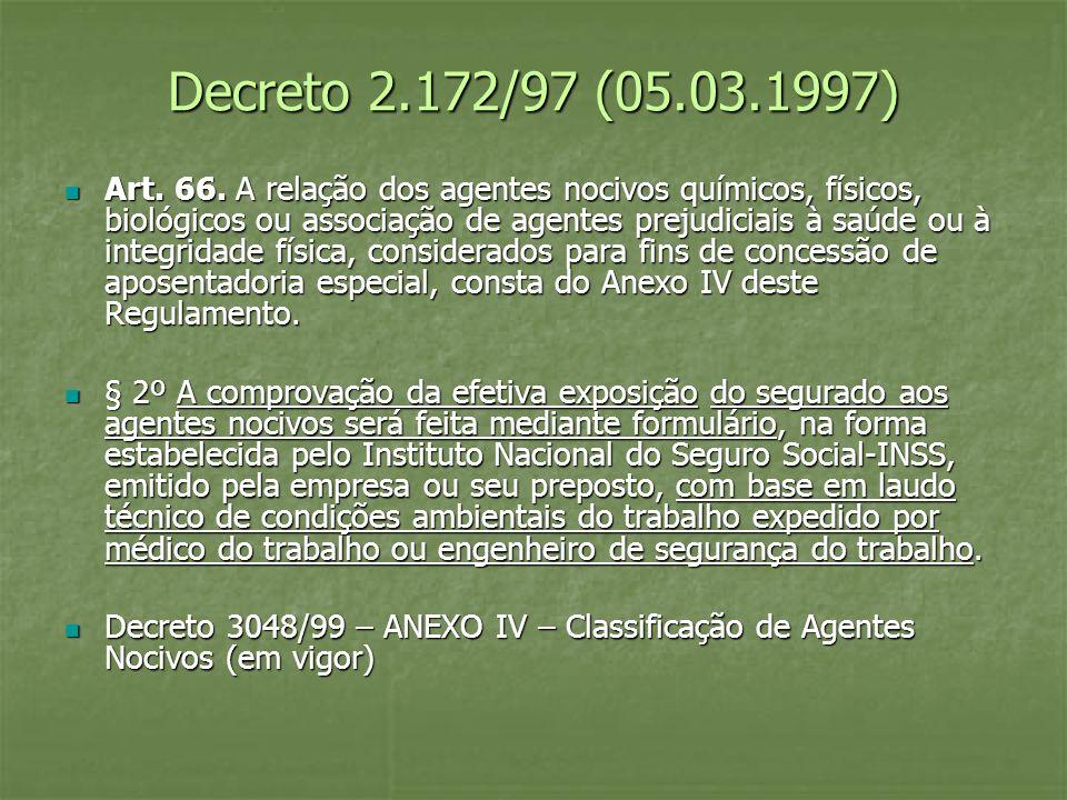 Decreto 2.172/97 (05.03.1997)