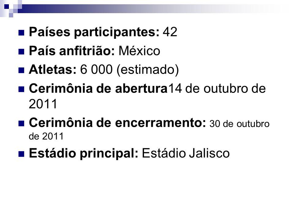 Países participantes: 42