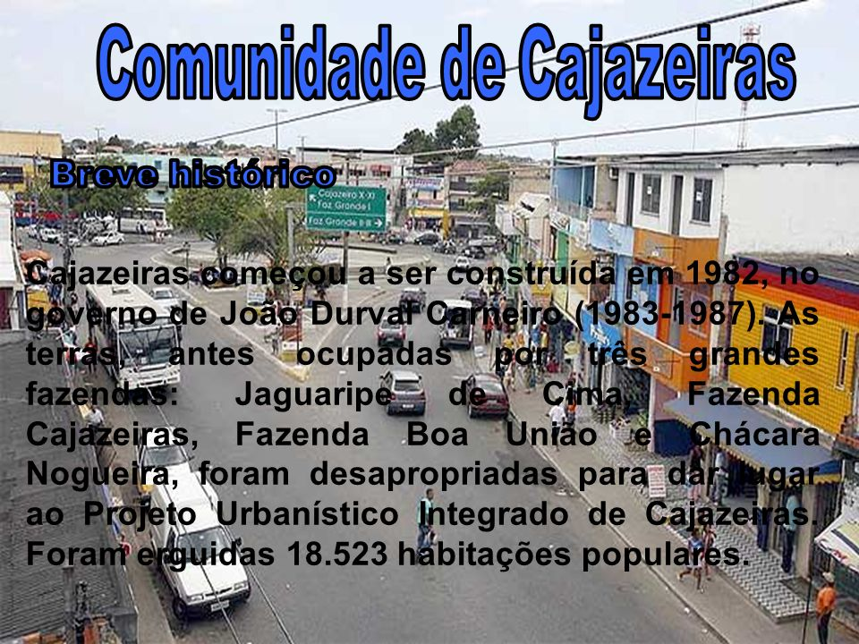 Comunidade de Cajazeiras
