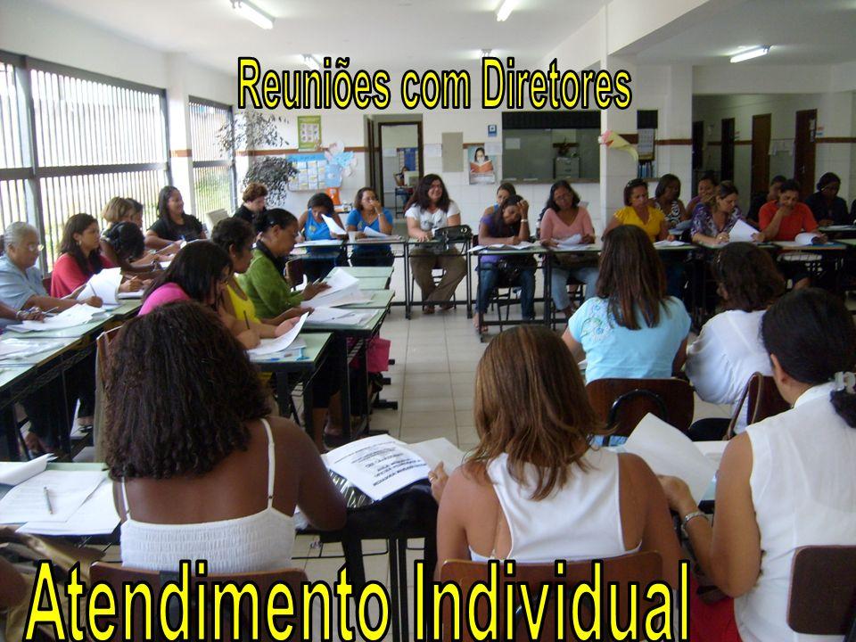 Reuniões com Diretores Atendimento Individual