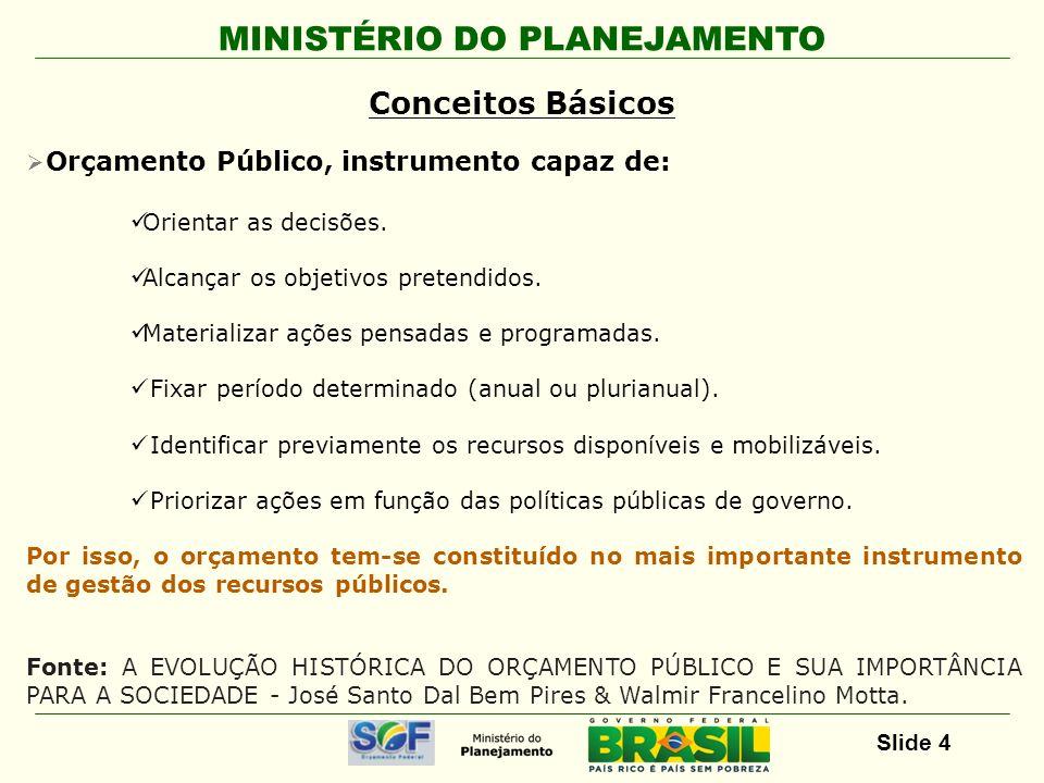 Conceitos Básicos Orçamento Público, instrumento capaz de: