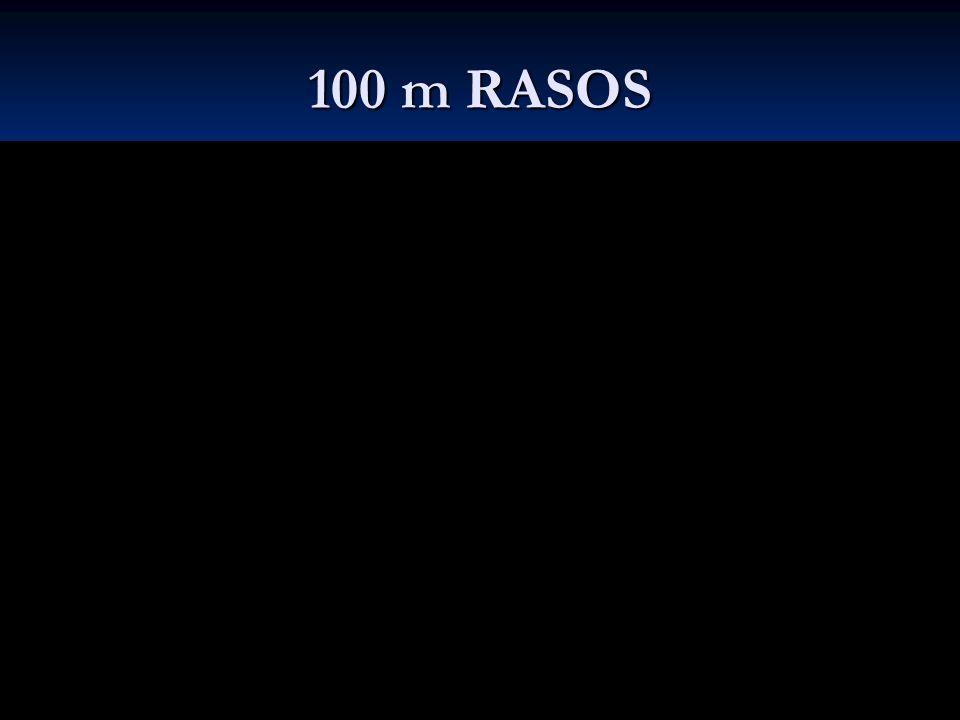 100 m RASOS