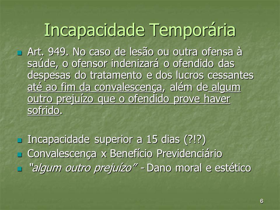 Incapacidade Temporária