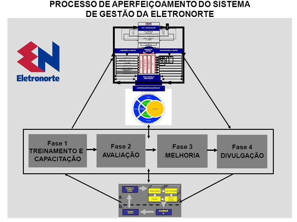 PROCESSO DE APERFEIÇOAMENTO DO SISTEMA DE GESTÃO DA ELETRONORTE