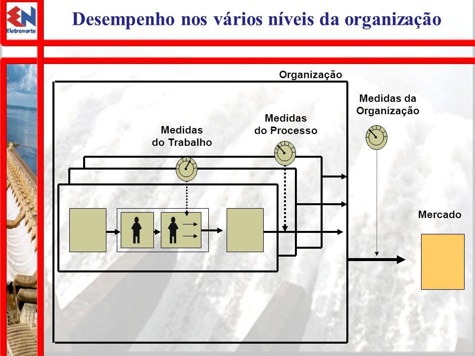 Desempenho nos vários níveis da organização