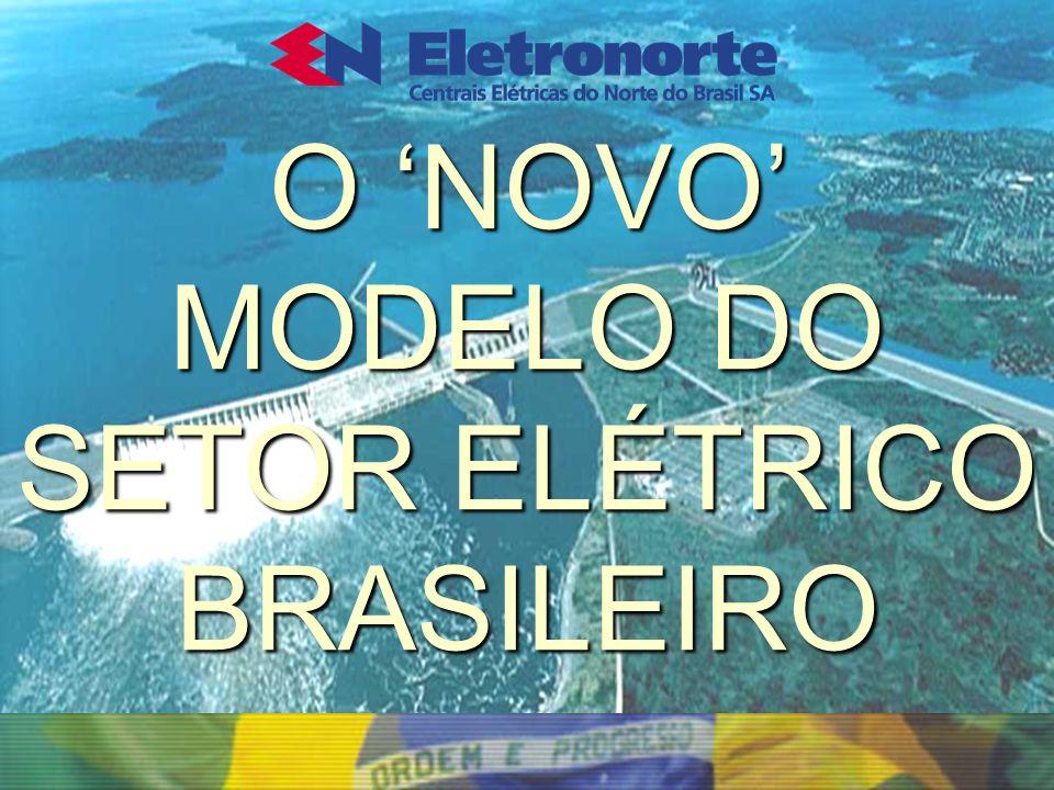 O 'NOVO' MODELO DO SETOR ELÉTRICO BRASILEIRO