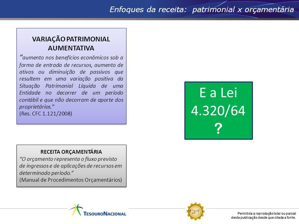 VARIAÇÃO PATRIMONIAL AUMENTATIVA