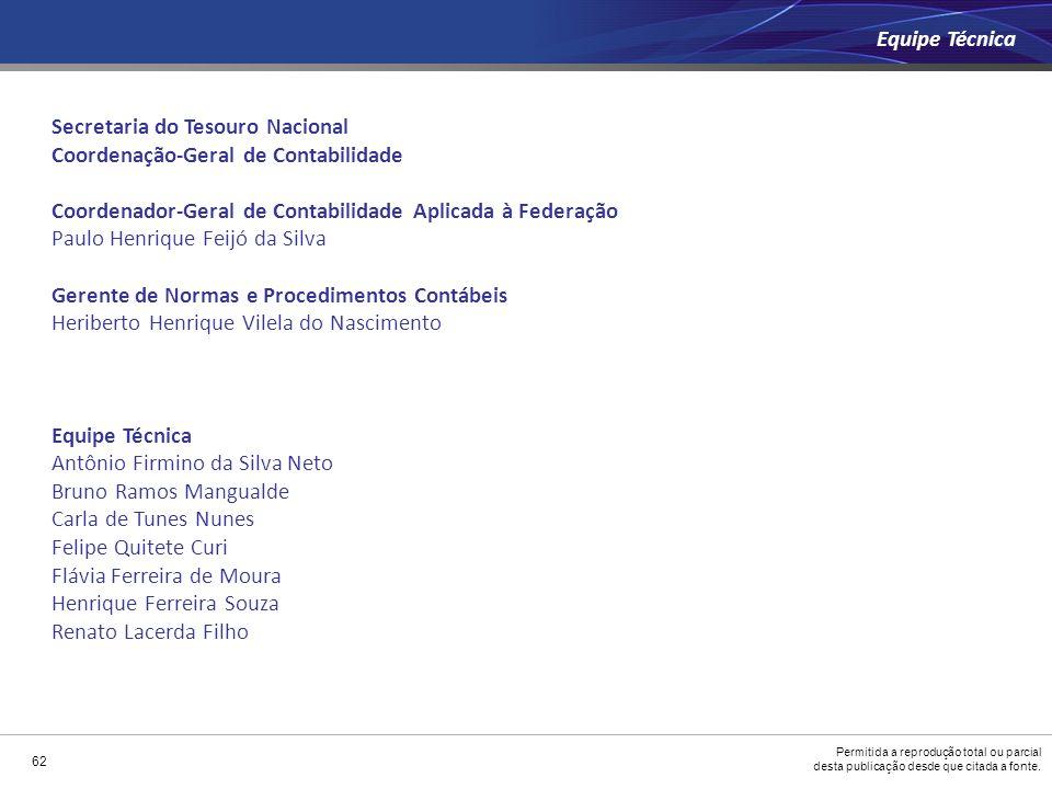 Secretaria do Tesouro Nacional Coordenação-Geral de Contabilidade