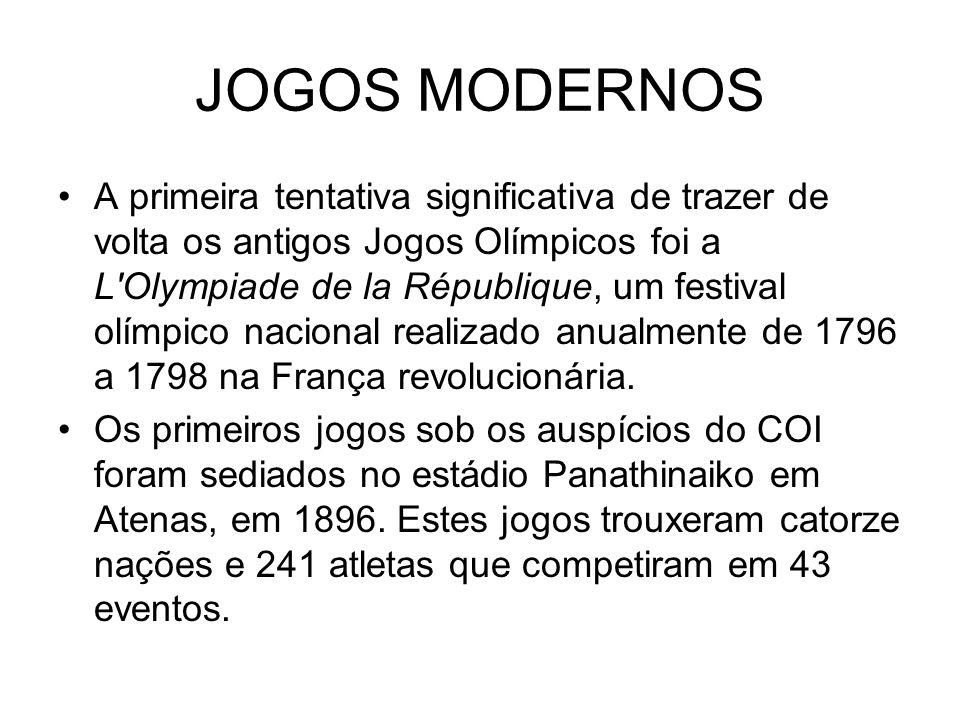 JOGOS MODERNOS