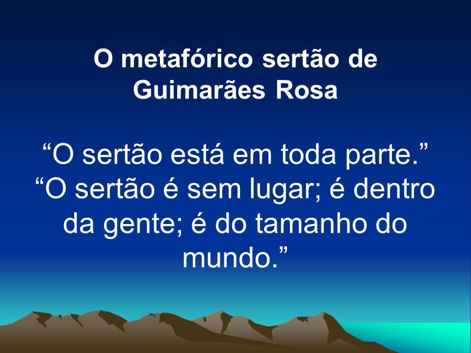 O metafórico sertão de Guimarães Rosa