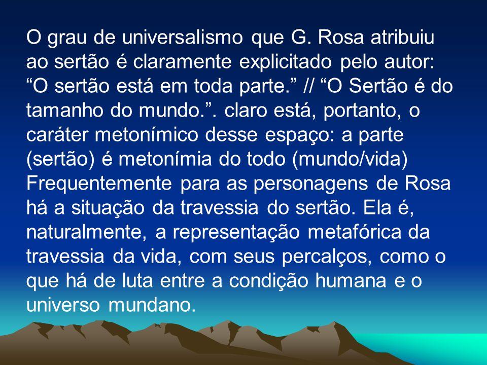 O grau de universalismo que G
