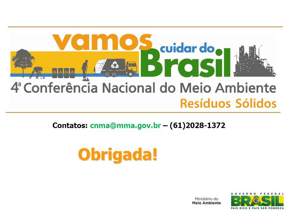Contatos: cnma@mma.gov.br – (61)2028-1372