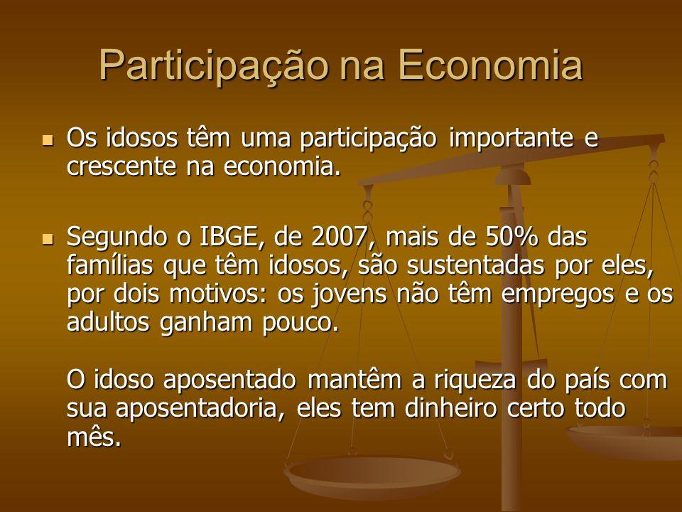 Participação na Economia