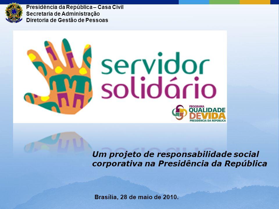 Um projeto de responsabilidade social