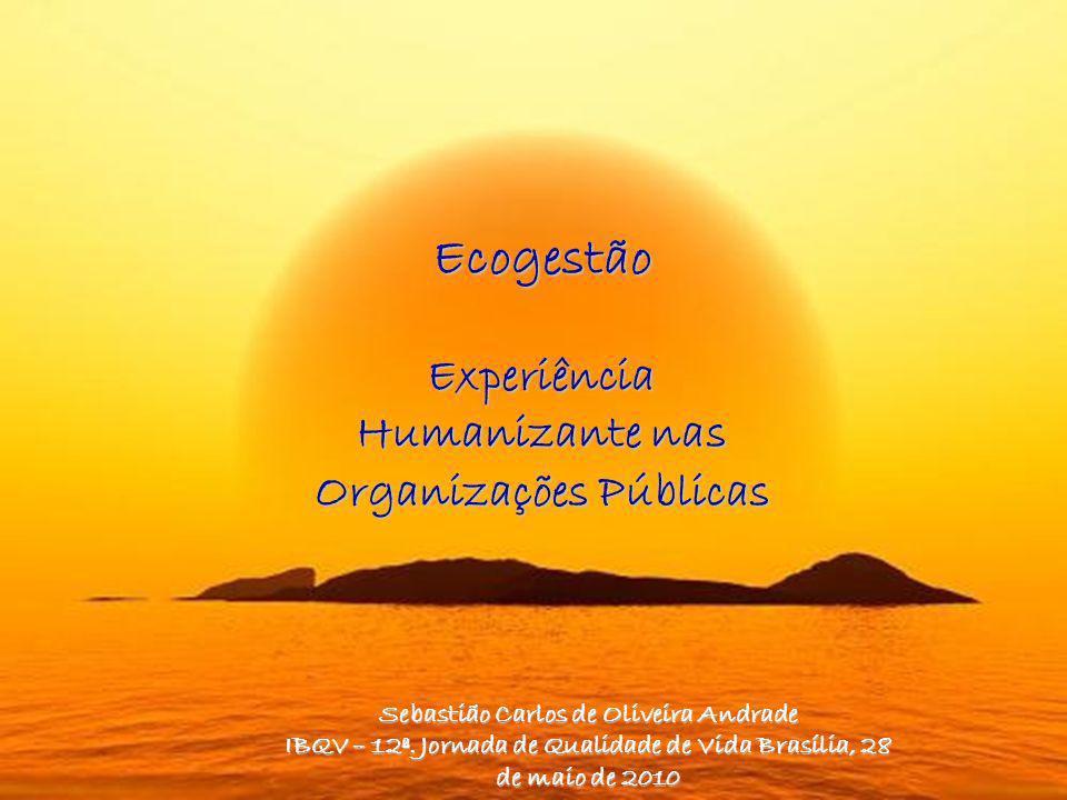 Ecogestão Experiência Humanizante nas Organizações Públicas