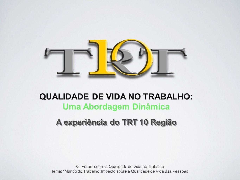 Uma Abordagem Dinâmica A experiência do TRT 10 Região