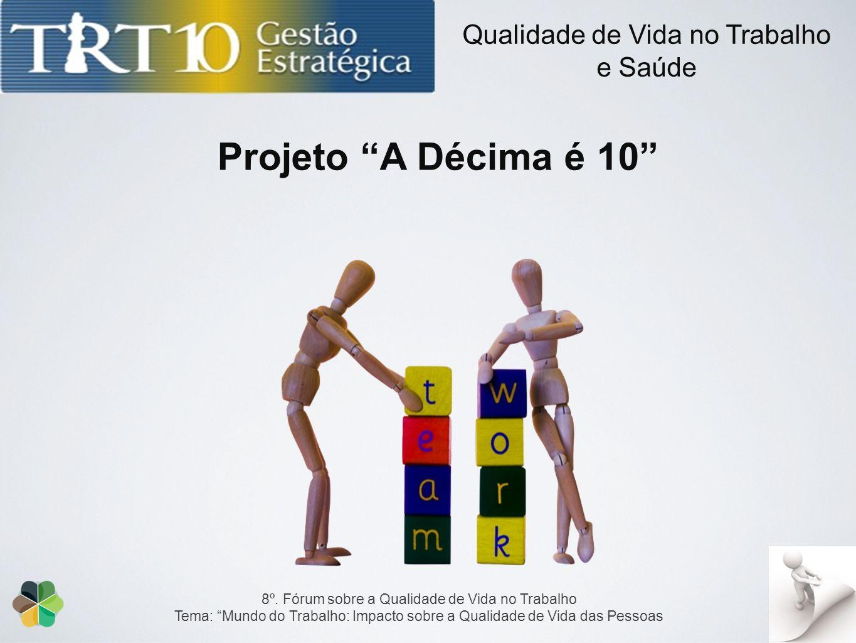 Projeto A Décima é 10 Qualidade de Vida no Trabalho e Saúde