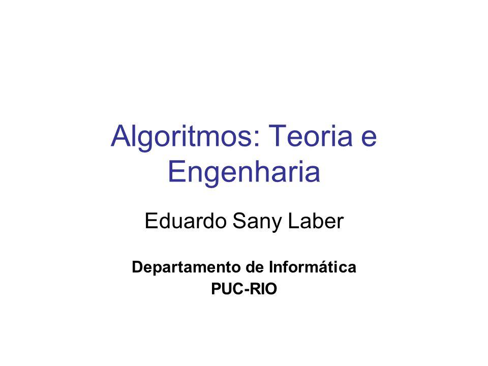 Algoritmos: Teoria e Engenharia