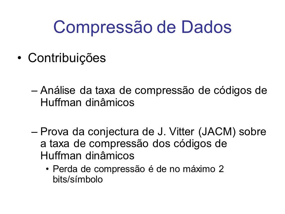 Compressão de Dados Contribuições