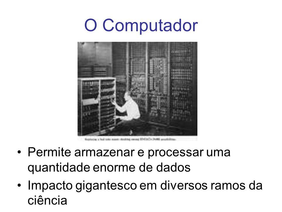 O Computador Impacto na sociedade. Permite armazenar e processar uma quantidade enorme de dados.