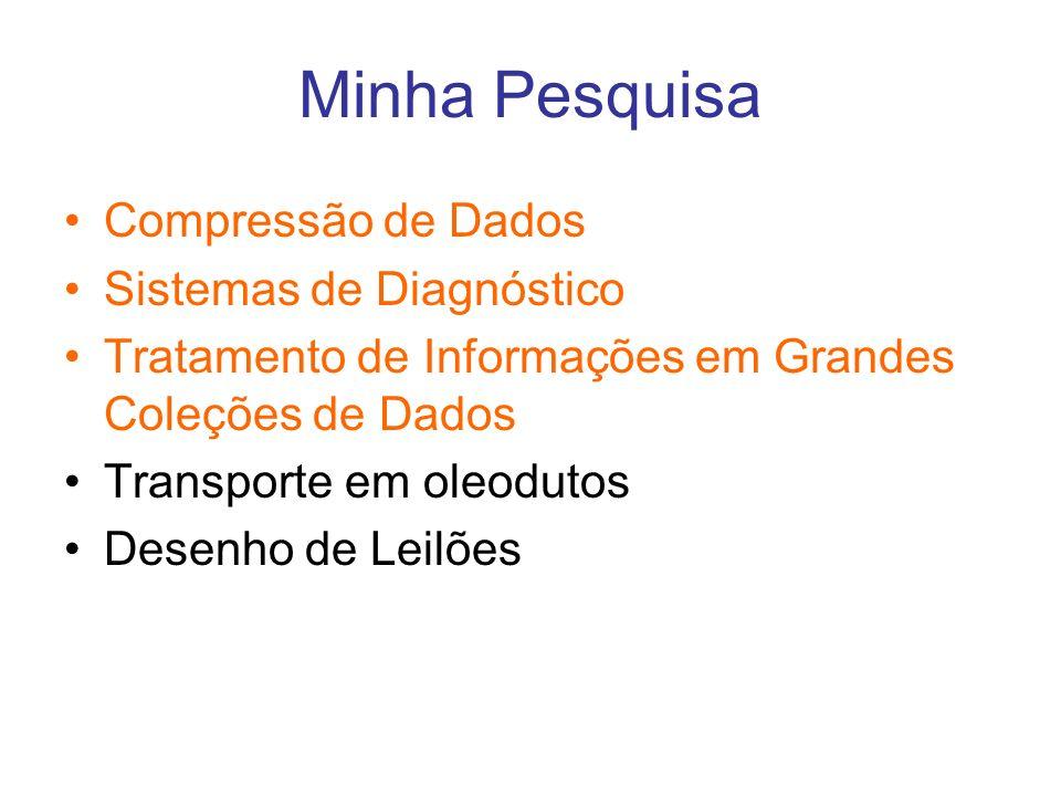 Minha Pesquisa Compressão de Dados Sistemas de Diagnóstico