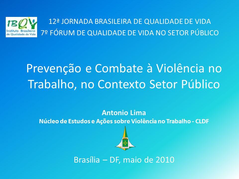 12ª JORNADA BRASILEIRA DE QUALIDADE DE VIDA