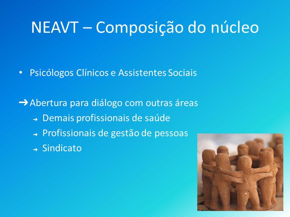 NEAVT – Composição do núcleo