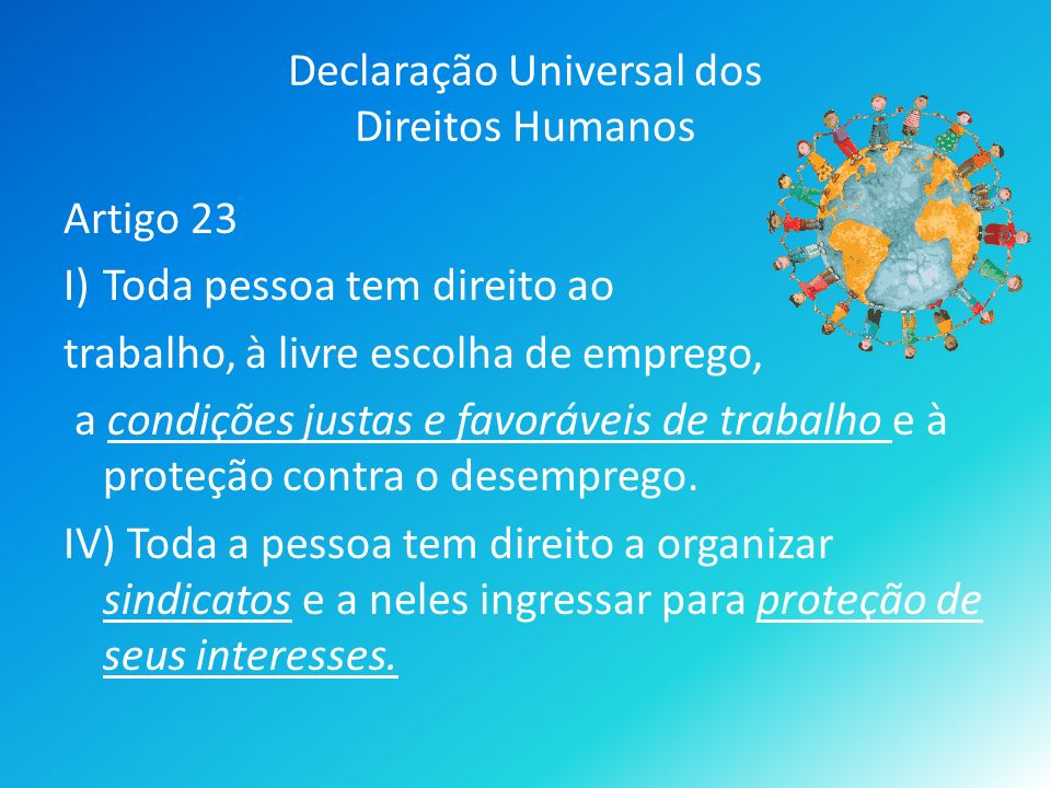 Declaração Universal dos Direitos Humanos