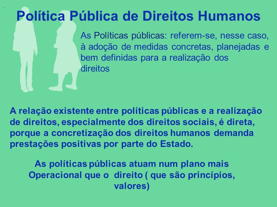 Política Pública de Direitos Humanos