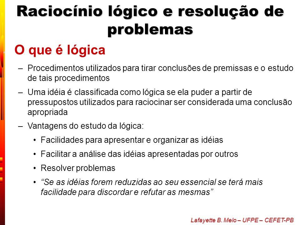 Raciocínio lógico e resolução de problemas