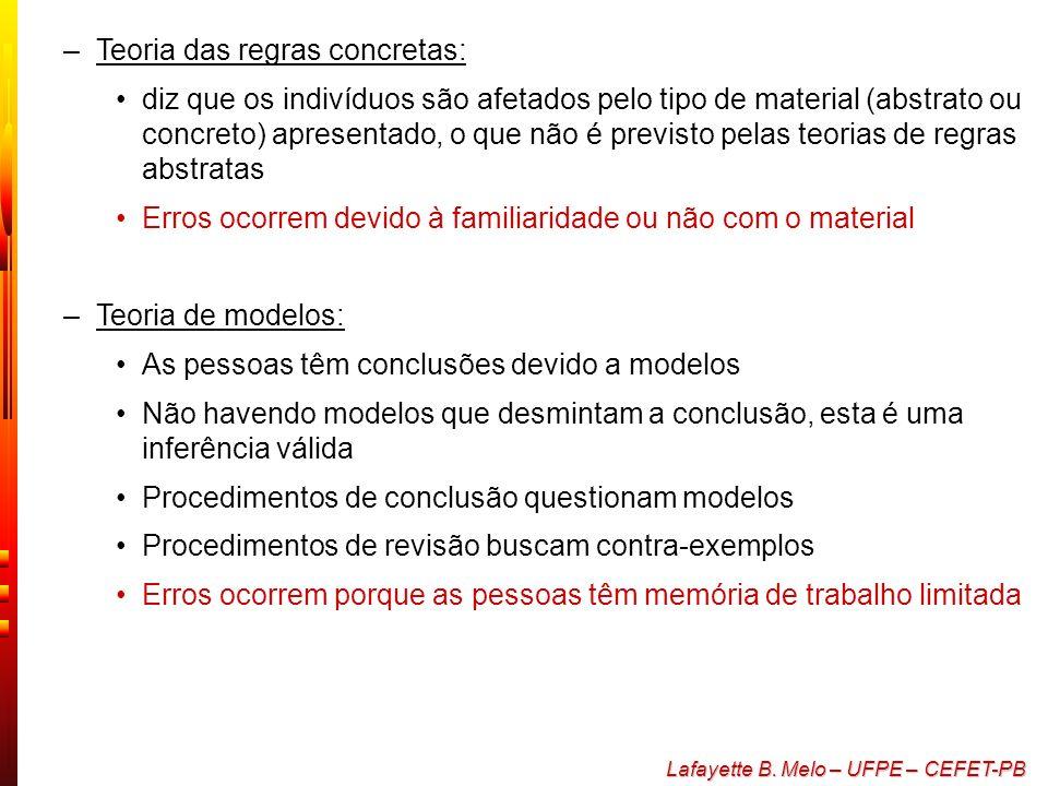 Teoria das regras concretas: